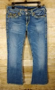 True Religion Bobby Super T Boot Cut Jeans